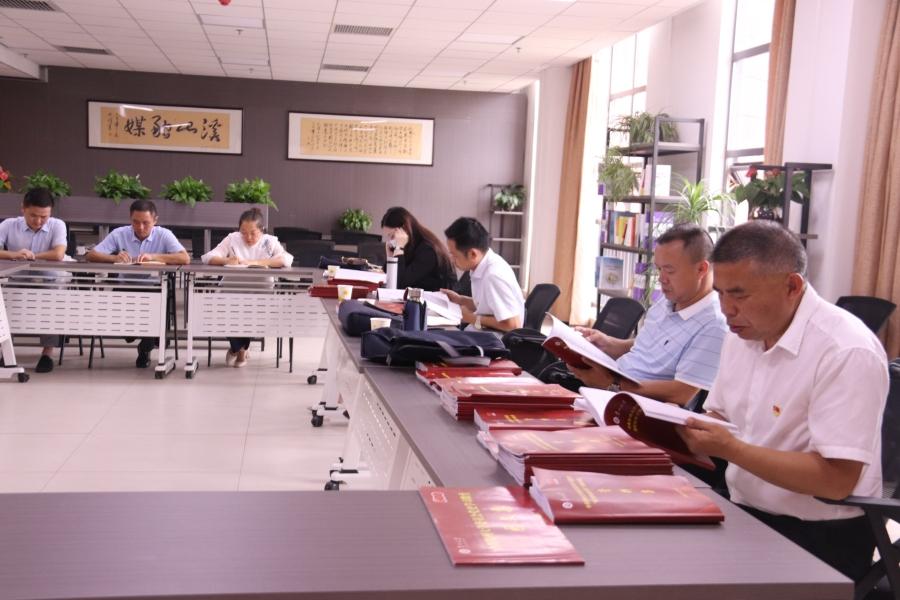 省委党史学习教育第十三巡回指导组到我校开展检查指导工作